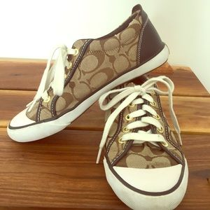 Coach Shoes - brown and tan (used)